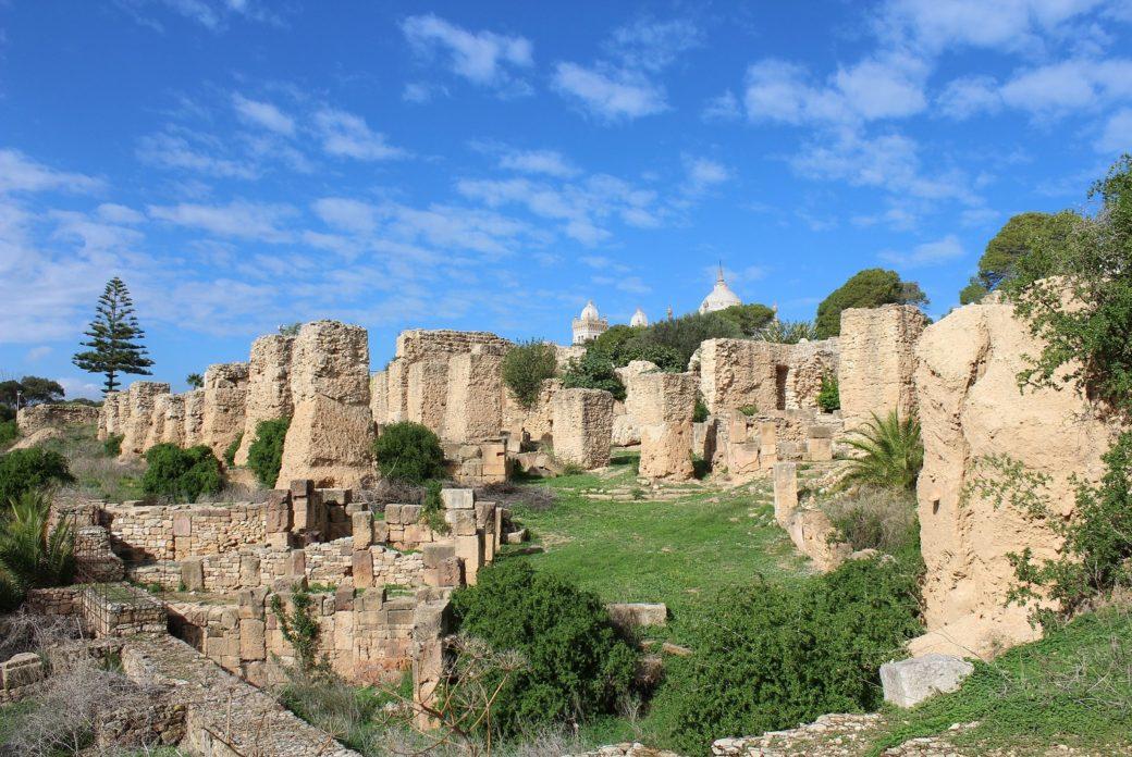 Ruiny Kartaginy w Tunezji