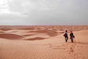 Pustynia Sahara w Tunezji