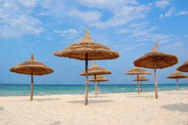 Plaża w tunezyjskim Sousse