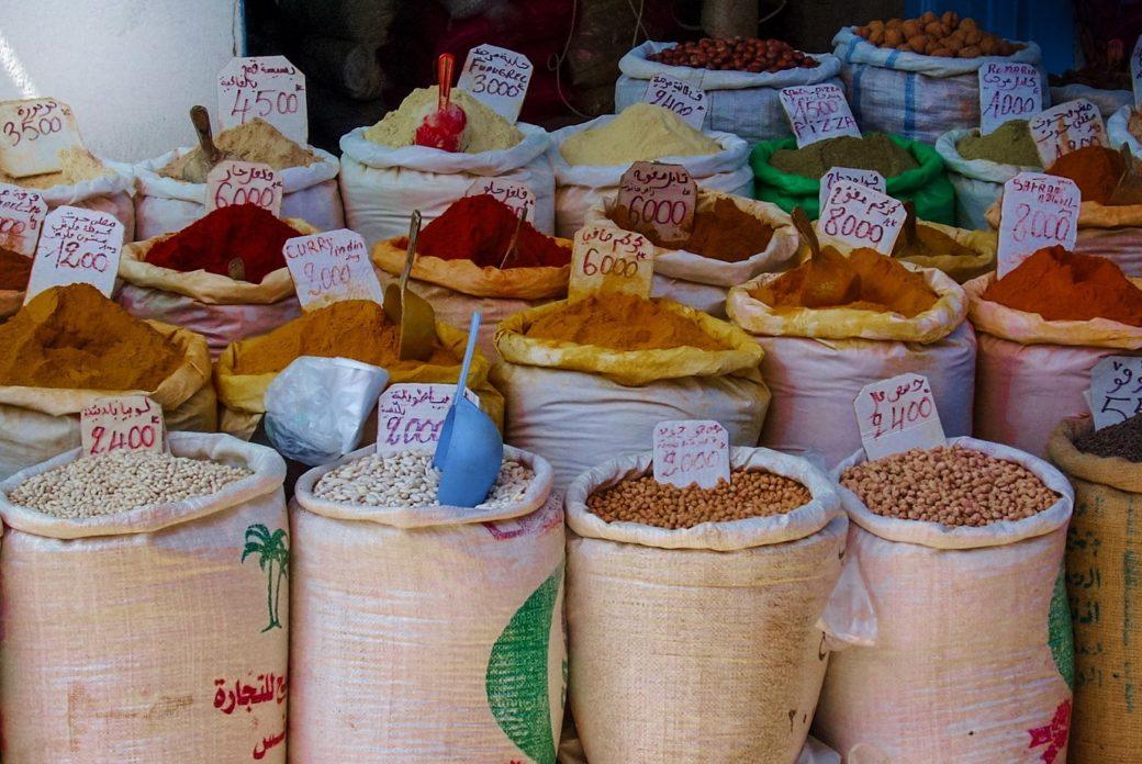 Ceny w tunezyjskim sklepie